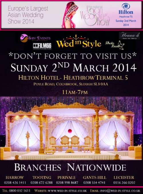 Heathrow Hilton wedding exhibition