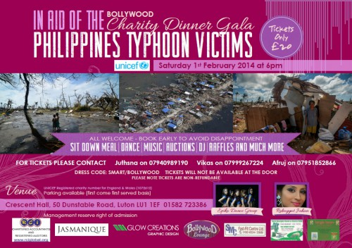 Typhoon Victims Charity Gala